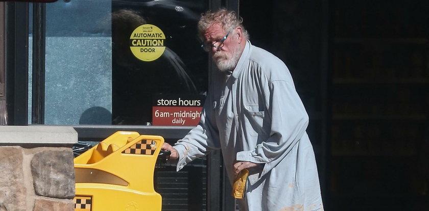 Wielki upadek wielkiego aktora. Co się z nim dzieje?!