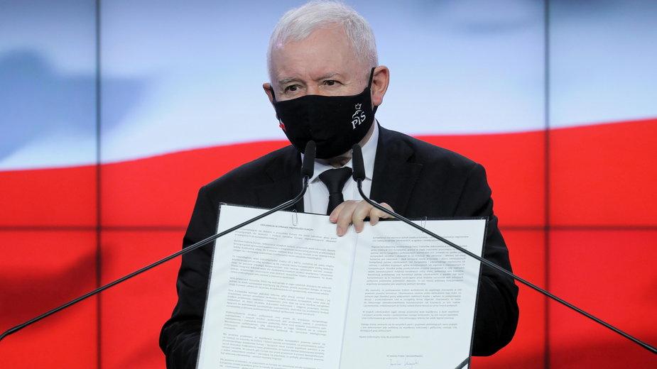 Kongres PiS. Jarosław Kaczyński zapowiada zmiany w partii