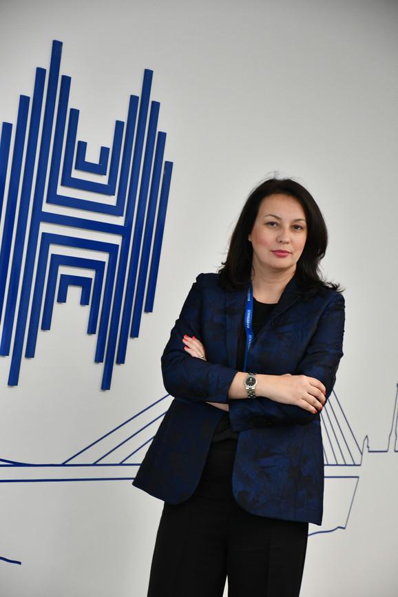 Mirjana Mijailović, direktor službe prodaje i marketinga za agro klijente Halkbanke