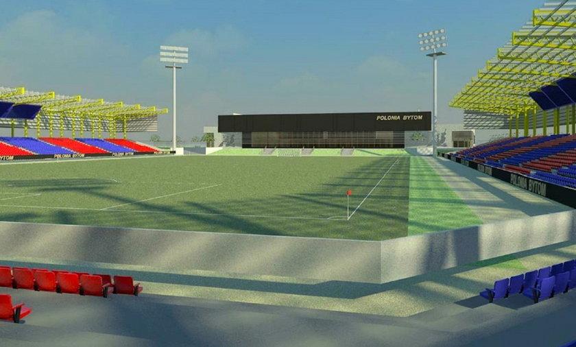 bytom stadion wizualizacja