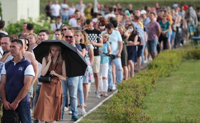 Red za glasanje u Minsku