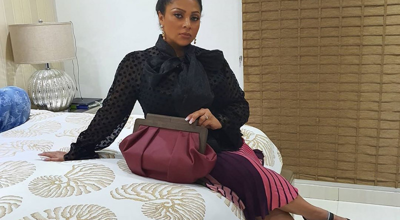 Peter Okoye's wife Lola Omotayo speaks on her Covid-19 experience, says she went through hell