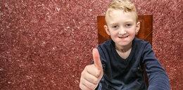 Miał 1,5 roku, gdy połknął środek do czyszczenia rur. Jak radzi sobie dzisiaj?