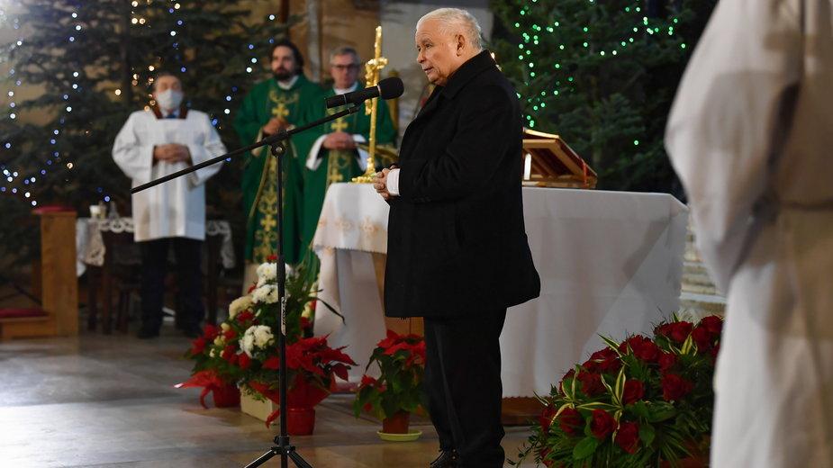 Jarosław Kaczyński w Starachowicach