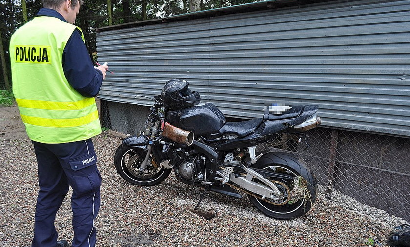 Śmierć niepełnosprawnego motocyklisty