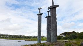 Sverd i fjell - miecze symbolizujące zjednoczenie Norwegii