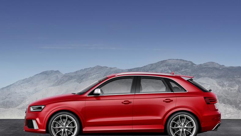 Audi szaleje! Niemiecki producent nowymi modelami samochodów sypie jak z rękawa... Kilka dni po tym jak zaprezentował usportowione S3 Sportback przyszła kolej na kolejną premierę - oto RS Q3, czyli SUV niczym wyścigówka...