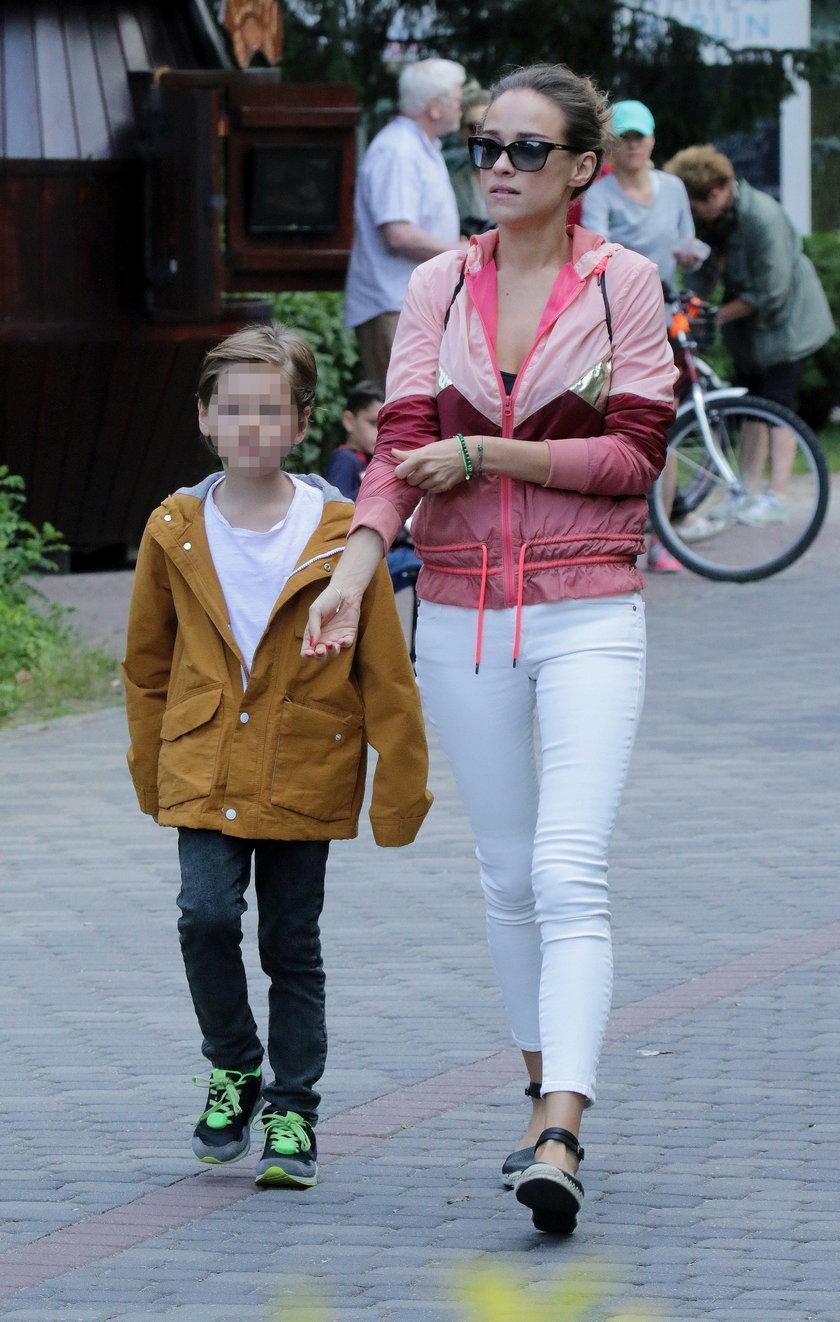 Alicja Bachleda Curuś z synem