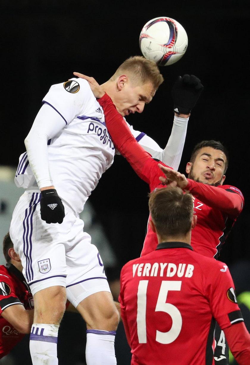 Łukasz Teodorczyk zawstydził Lewandowskiego. Znów trafia w LE!
