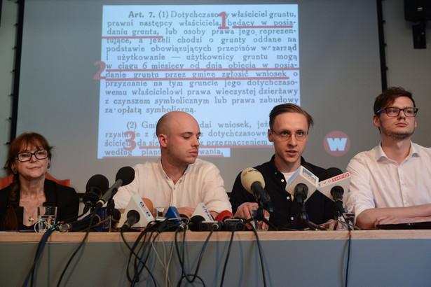 """Według WMW potwierdzają one, że miasto, wydając decyzje zwrotowe, powinno weryfikować, czy wnioskodawca w okresie, gdy wchodził w życie dekret Bieruta """"faktycznie władał gruntem"""""""