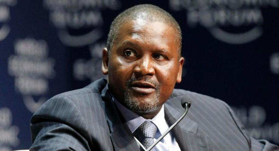 Africa's richest man Dangote endorses Okonjo-Iweala for WTO job (Bloomberg)