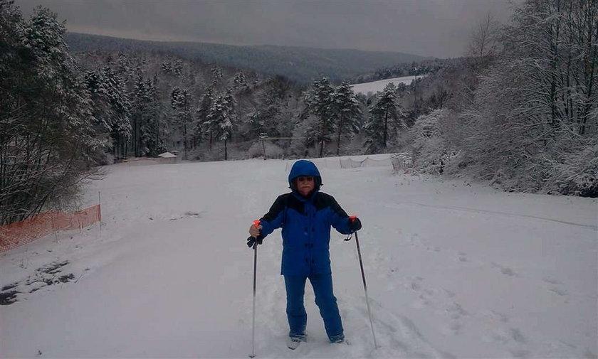 Wałęsa na nartach... bez nart! O co chodzi?