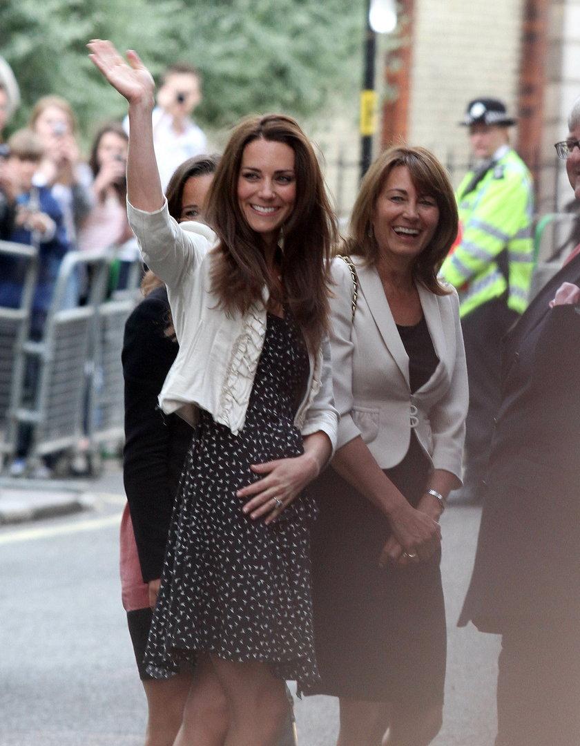 Kate Middleton, Carole Middleton