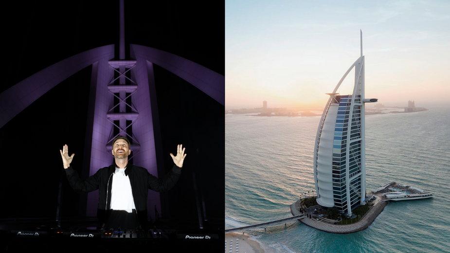 Koncert charytatywny w Dubaju