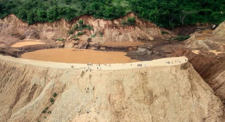 Solai Dam which burst in 2018 located inside Patel farm (Twitter)