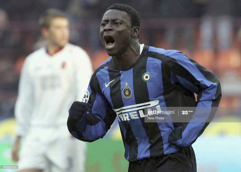 Obafemi Martins emerged at Inter as an incredibly talented youngster but failed to hit the expected heights (New Press/Getty Images)