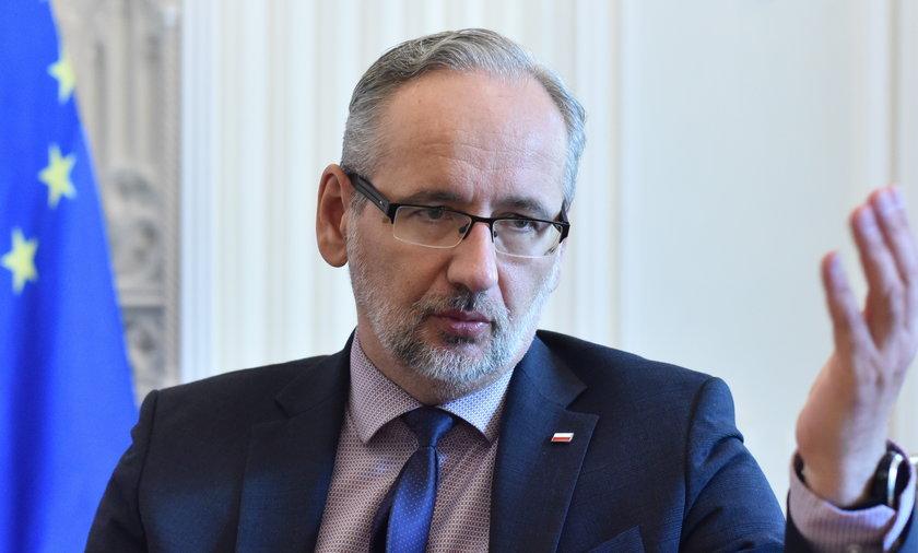 Adam Niedzielski jest ministrem zdrowia.