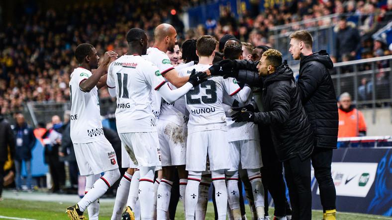 Radość piłkarzy Rennes