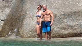 Jason Statham i Rosie Huntington-Whiteley na wakacjach. Co za ciała!