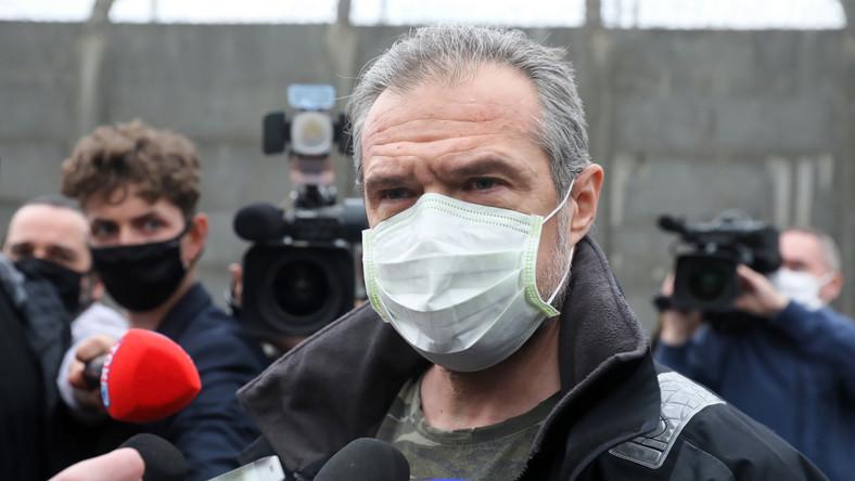 Sławomir Nowak po opuszczeniu aresztu