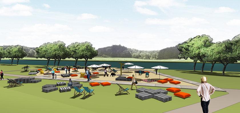 Mieszkańcy Lubonia będą mieli swoją plażę