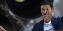Miliarder poleci w podróż dookoła księżyca. Musk ujawnił jego nazwisko