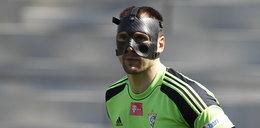 Maska mu niestraszna