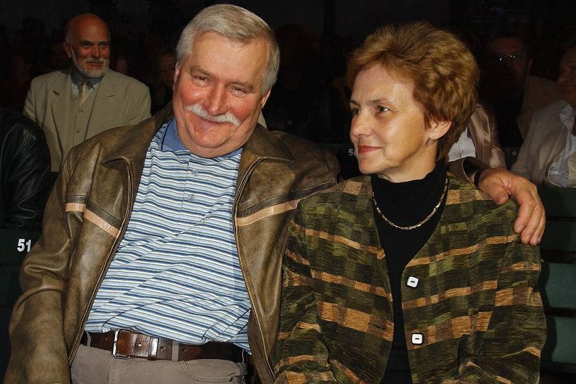Lech i Danuta Wałęsa