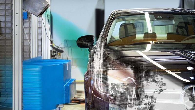 Rentgen pomoże projektować bezpieczne samochody