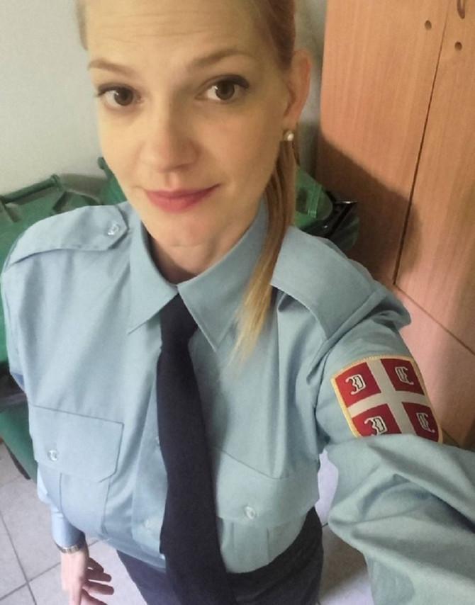 """Dragana Dabović kao Šaša ui """"Vojnoj akademiji"""""""