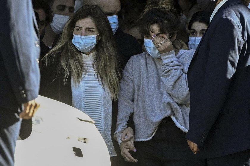 Jedyne małżeńskie dzieci Maradony – córki Dalma (z lewej) i Giannina