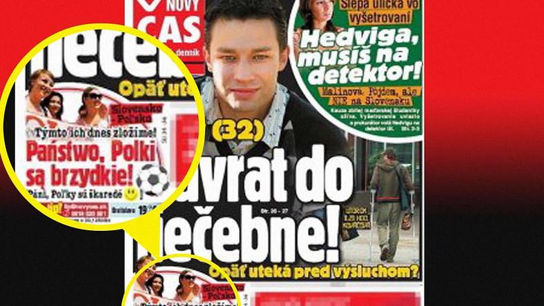Słowacka wojna na słowa