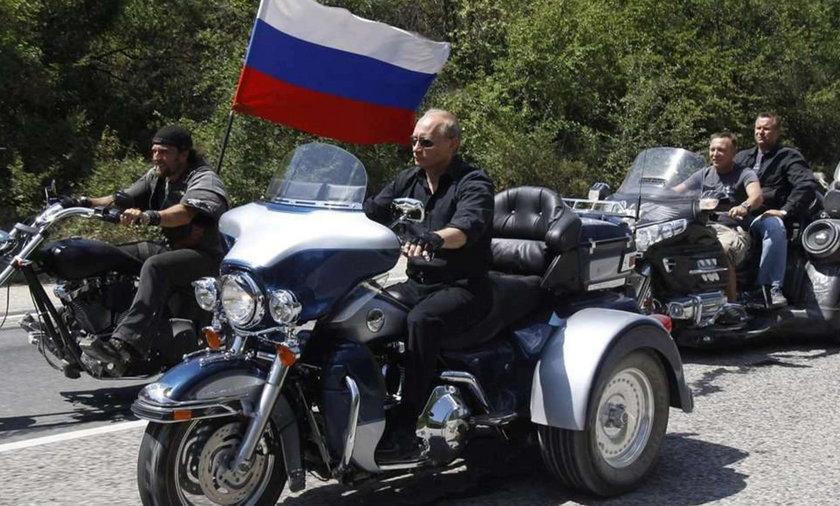 Putin jak Easy Rider