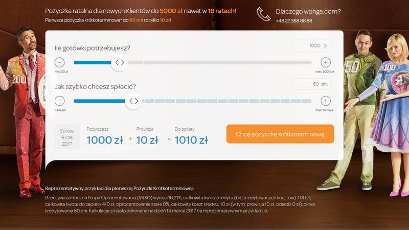 Wonga.com - wyciek danych 270 tys. klientów