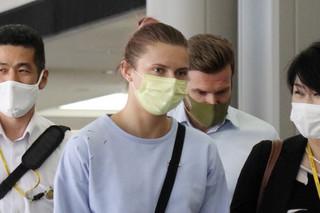Kryscina Cimanouska wylądowała bezpiecznie w Warszawie