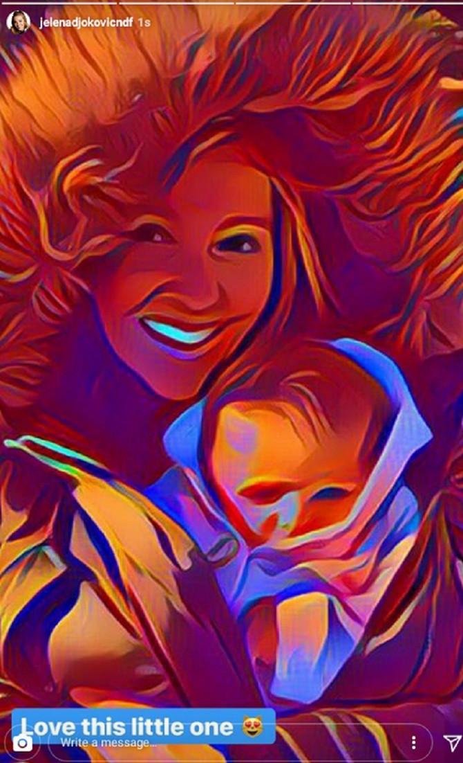 Jelena sa bebom