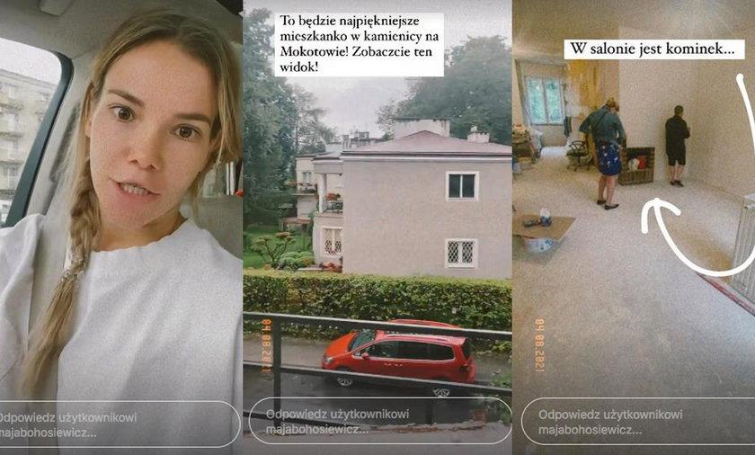 Maja Bohosiewicz urządza nowe mieszkanie