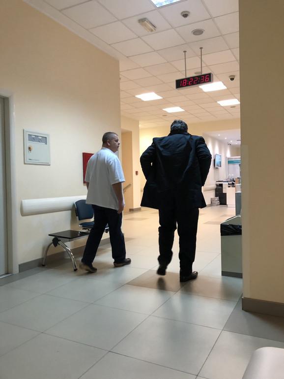 Dejan Đorđević u Urgentnom centru