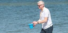 W Legii bałagan, a trener Magiera  odpoczywa na plaży