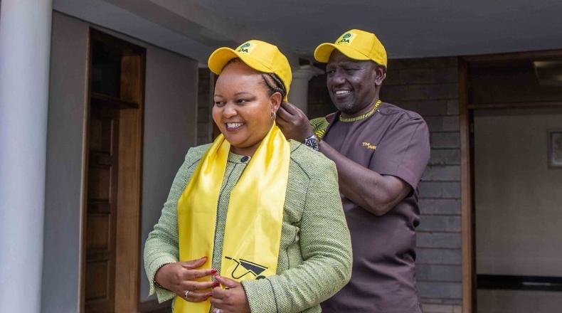 Ruto and Waiguru speak after hearty reunion [Video]