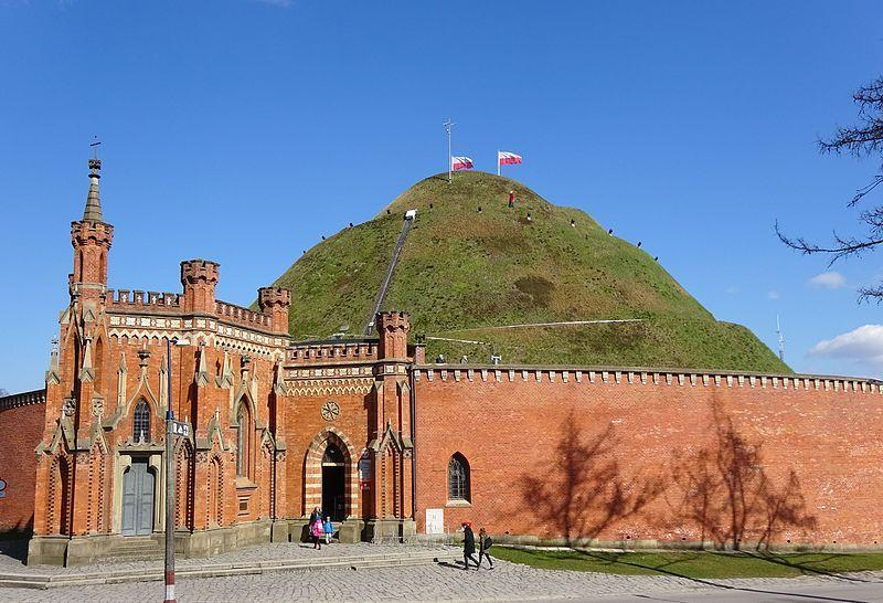 Kopiec Kościuszki w Krakowie, wraz z Kaplicą bł. Bronisławy