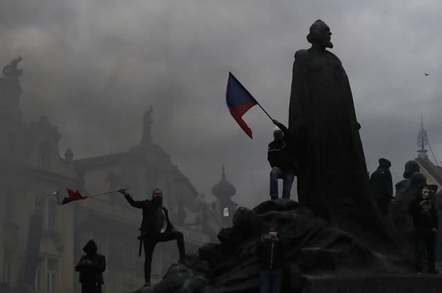Demonstracije u Pragu