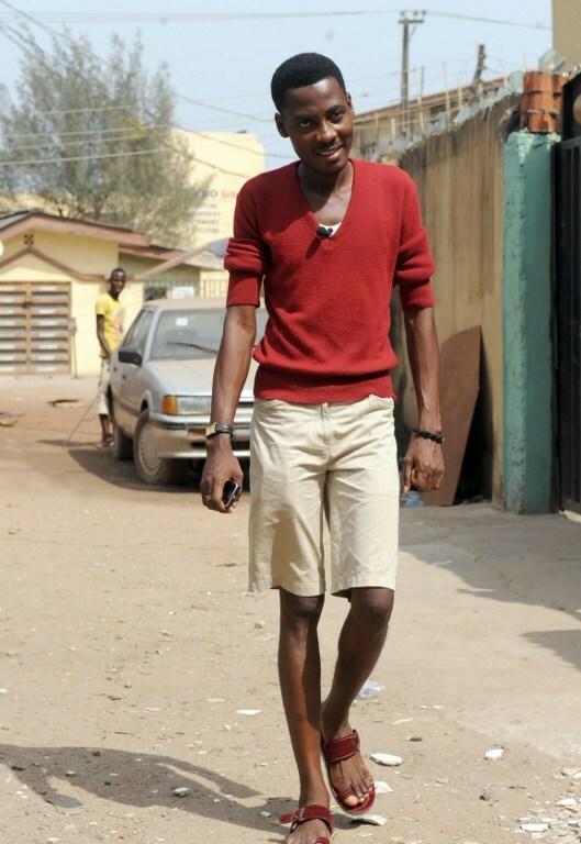 Rashidi Williams, przewodniczący nigeryjskiej grupy Queer Alliance