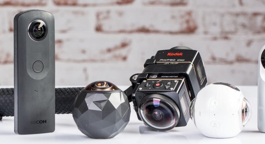 360-Grad-Kameras im Vergleich: LG, Ricoh, Kodak & 360fly