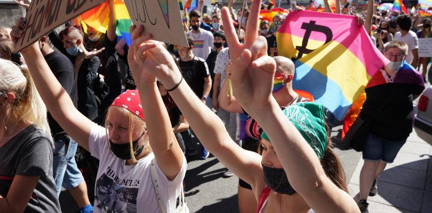 Marsz równości przeszedł ulicami Katowic