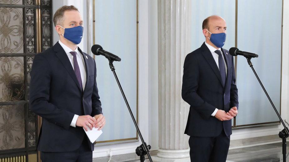 Cezary Tomczyk i Borys Budka spierali się z reporterem TVP Info