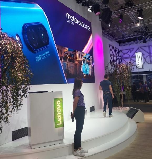 Motorolin novi telefon predstavljen je na IFA