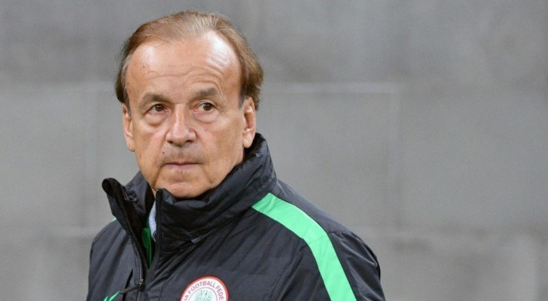 No update yet on the contract of Gernot Rohr and even the Super Eagles boss is in the dark