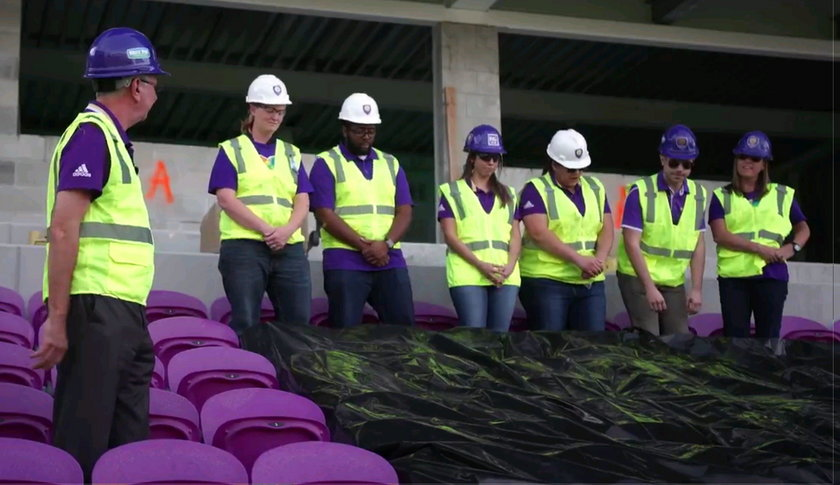 Klub piłkarski oddał hołd ofiarom