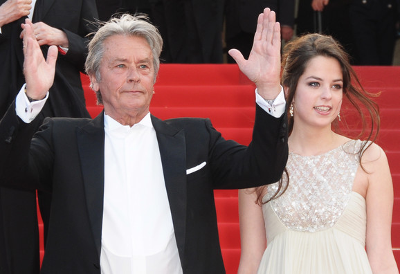 Alen sa ćerkom Anuškom 2010.